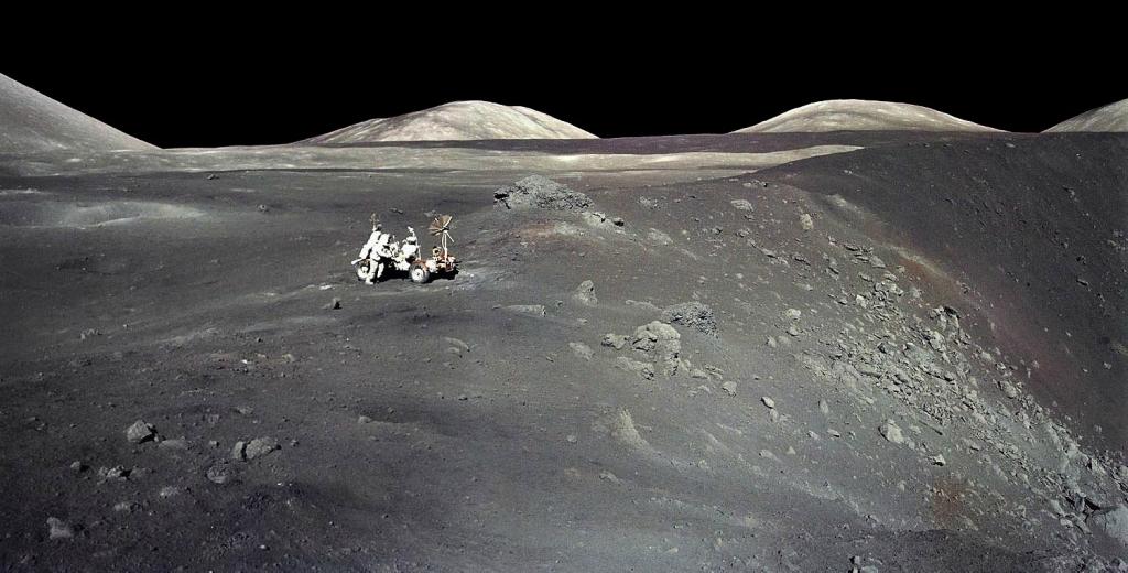 Как всего одно фото Аполлона-17 выдало лунную аферу